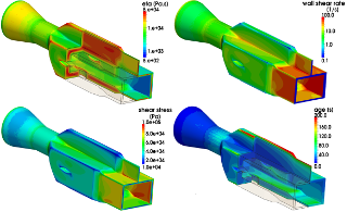 CFD-plastics applications